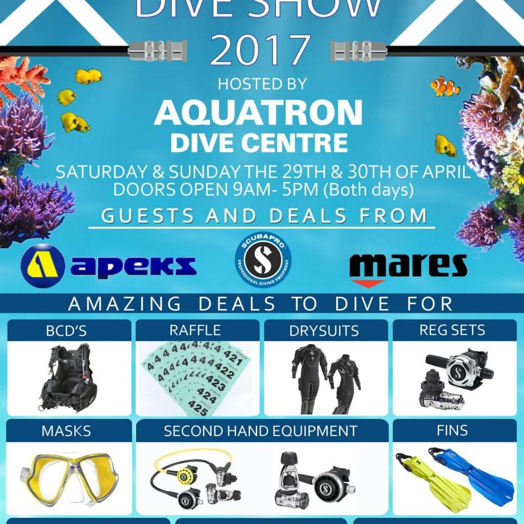 scottish dive show flyer
